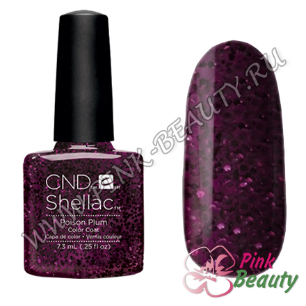 Shellac CND USA Poison Plum - Contradictions Collection 2015