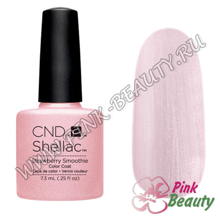 Shellac CND USA Strawberry smoothie