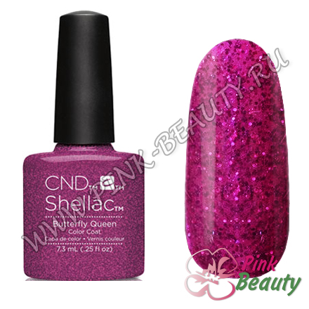 Shellac CND USA Butterfly Queen - Garden Muse Collection 2015
