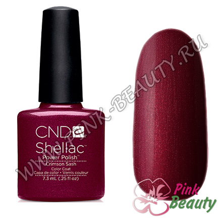 Shellac CND USA Crimson Sash - Modern Folklore Collection 2014